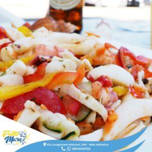 Fritto mare: un pranzo leggero e genuino con l'insalatina di mare
