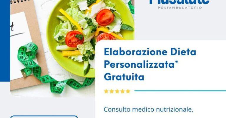 Prenota un appuntamento per la DIETA PERSONALIZZATA GRATUITA con Più Salute