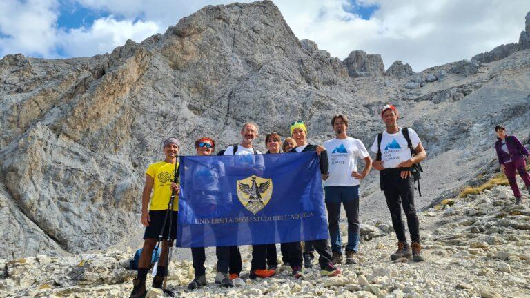 Climbing For Climate sul Gran Sasso con salita al Ghiacciaio del Calderone