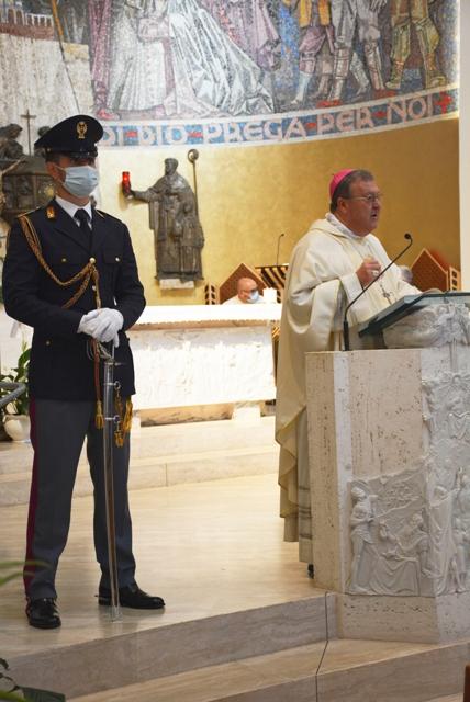 Teramo: la Questura celebra San Michele, il patrono della Polizia di Stato