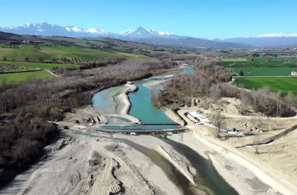 Fiume Vomano, nuovo sbarramento idroelettrico: verifiche di forestali e genio civile FOTO VIDEO