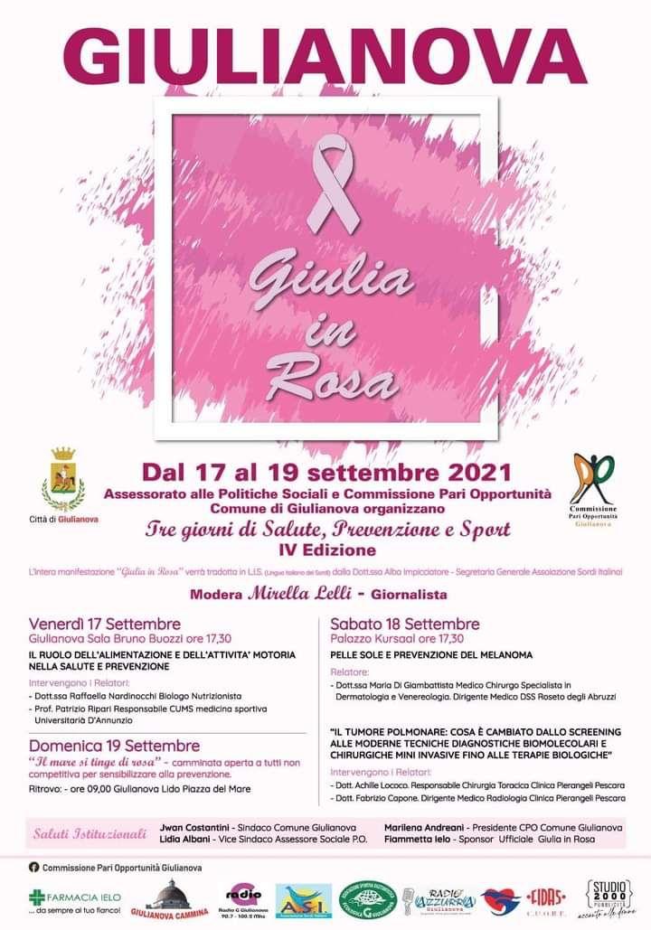 Giulianova in Rosa: la manifestazione dedicata a salute, prevenzione e sport