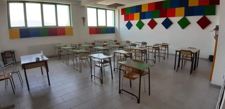 """Ancarano, riapertura delle scuole: due classi vengono allestite nell'oratorio """"Don Bosco"""""""