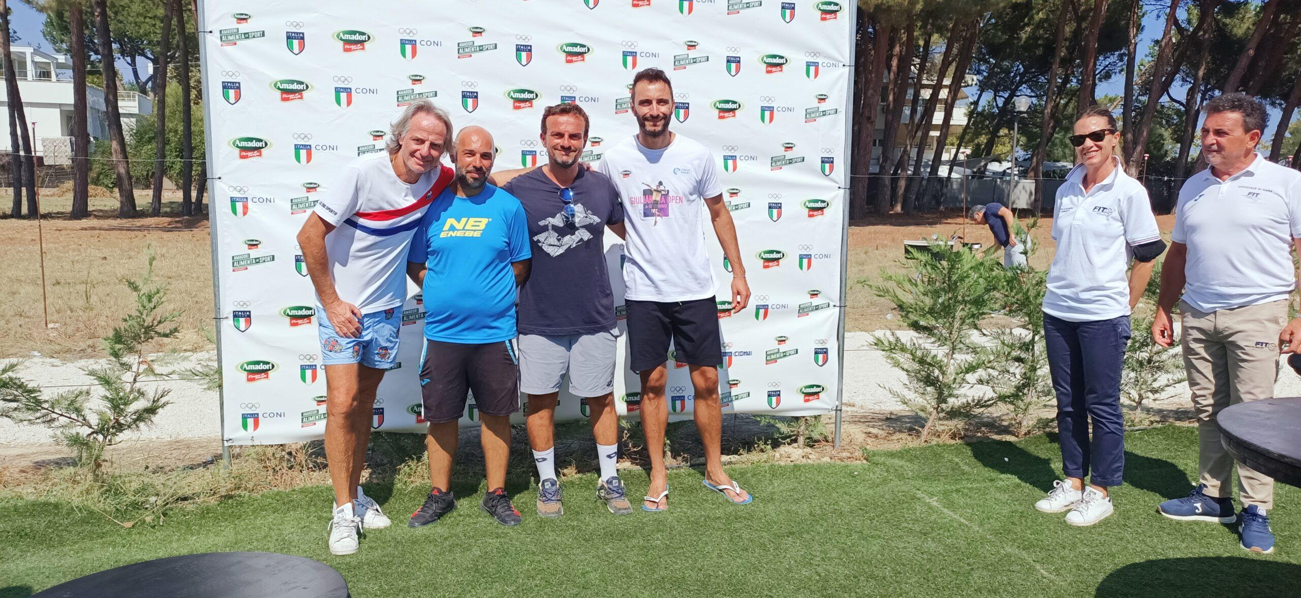 Padel Giulianova. Tanti azzurri in gara, alla fine vincono i favoriti: Capitani-Cattaneo e Orsi-Tommasi