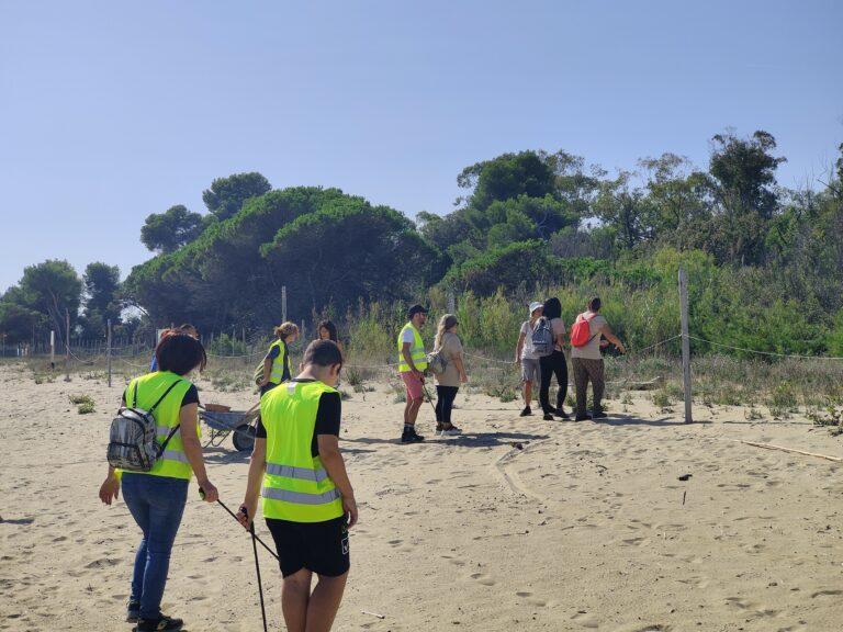 Roseto, pulite e tutelate le dune della Riserva del Borsacchio