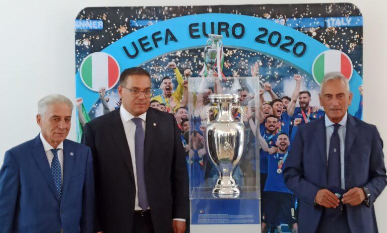 La Coppa Europea e Gravina fanno visita a Pescara