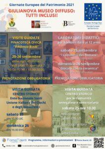 Giornate europee del Patrimonio a Giulianova: laboratori e visite guidate per promuovere l'inclusione
