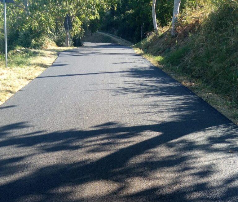 Penna Sant'Andrea, terminato il rifacimento dell'asfalto da Collemarino a Capsano