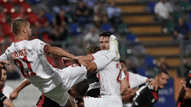 Serie C, il Teramo evita il terzo ko: 2-2 in casa della Lucchese