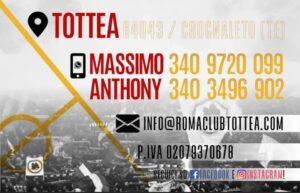 Crognaleto, al via la campagna tesseramenti del Roma Club Tottea