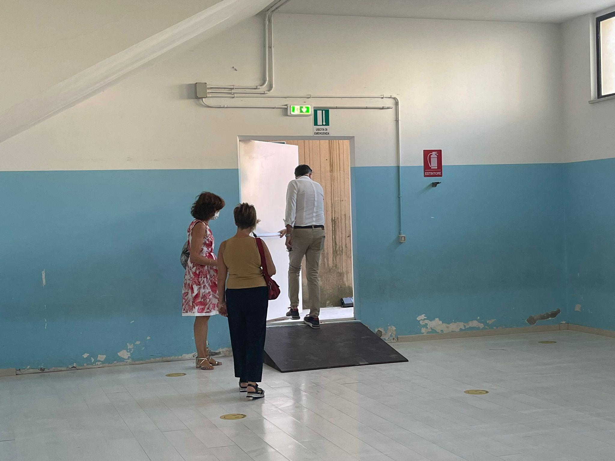 Teramo, la scuola Serroni di San Nicolò pronta alla riapertura. Prossimo step lavori antincendio alla Zippilli FOTO VIDEO