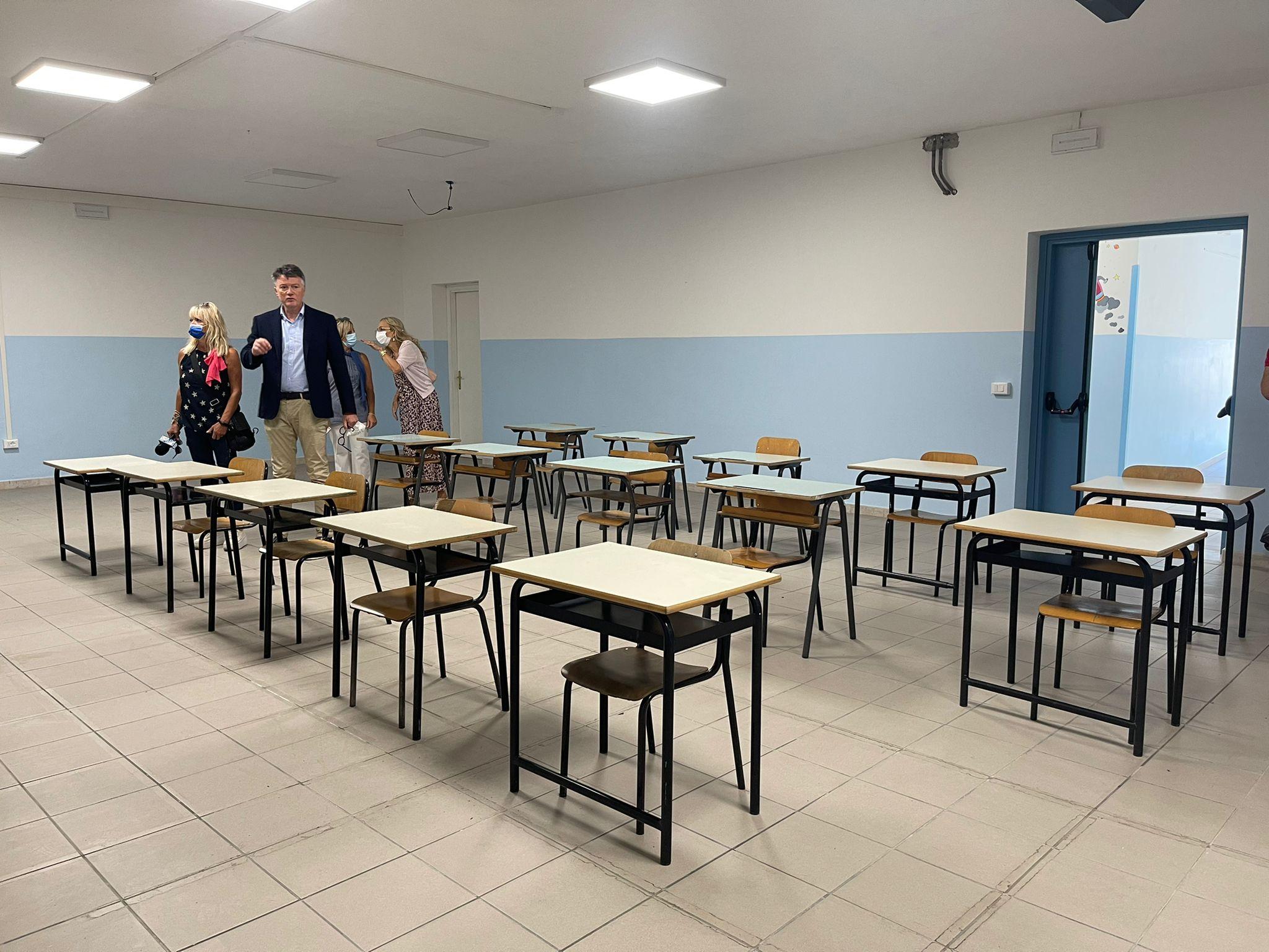 Teramo, altre scuole pronte dopo gli adeguamenti. Domani è il giorno di Colleatterrato FOTO VIDEO