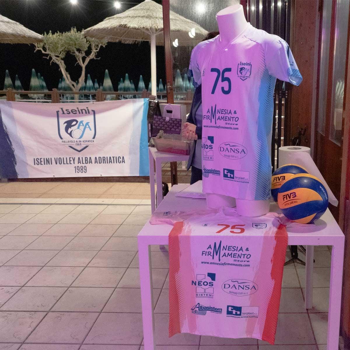 Alba Adriatica, la Iseini volley si presenta in vista del campionato di serie B