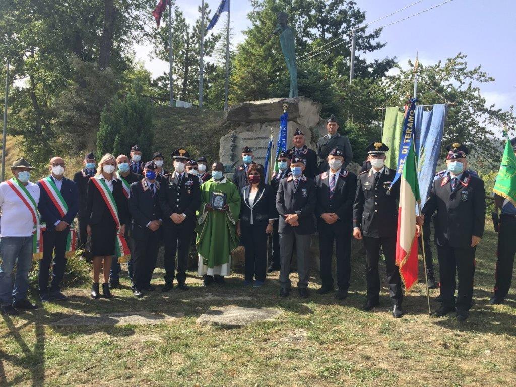 """Rocca Santa Maria, cerimonia per l'eccidio di """"Sella Chiarelli"""""""