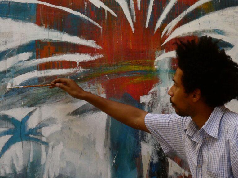 Atri, realizzato il murale vincitore della Biennale Casoli Pinta