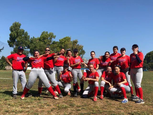 Softball: l'Atoms' Chieti vola in Sicilia per i playoff per la serie A2