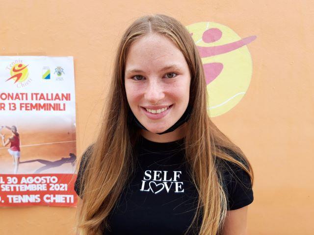 Tennis: Marino-Giambelli sarà la finale di Chieti dei campionati nazionali femminili under 13