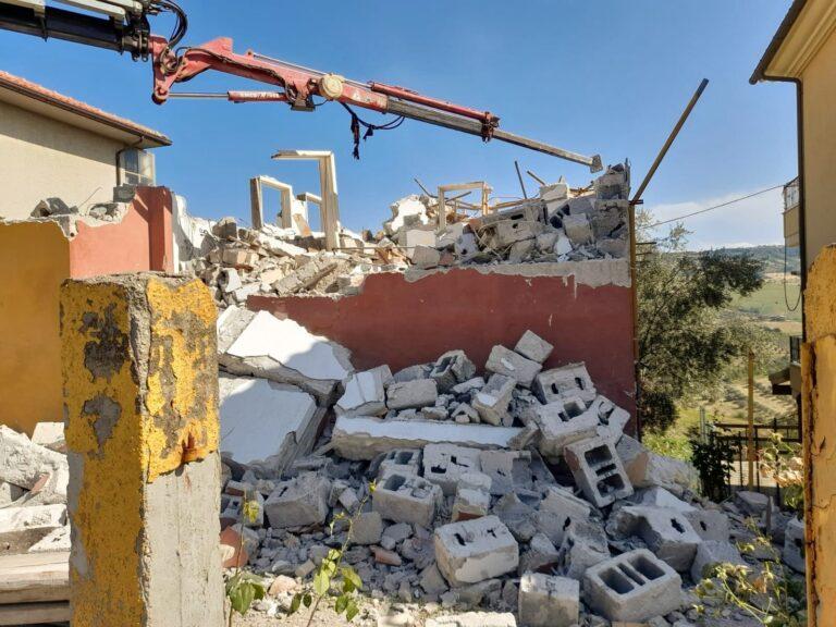 Frana a Casoli di Atri, conferenza dei servizi per coordinare i lavori resisi necessari