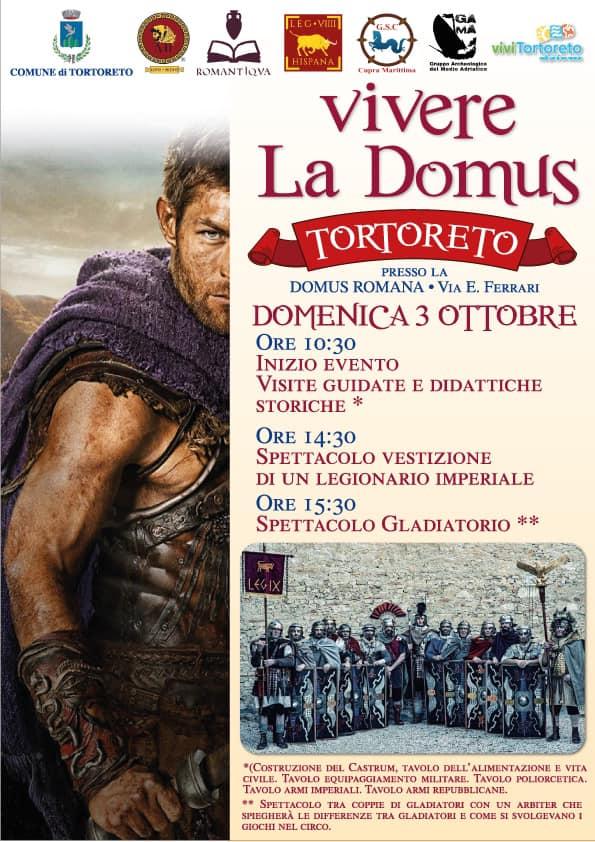 Tortoreto, Domus Muracche: visite guidate e rievocazioni