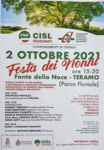 Festa dei nonni: l'iniziativa della Fnp Cisl pensionati di Teramo