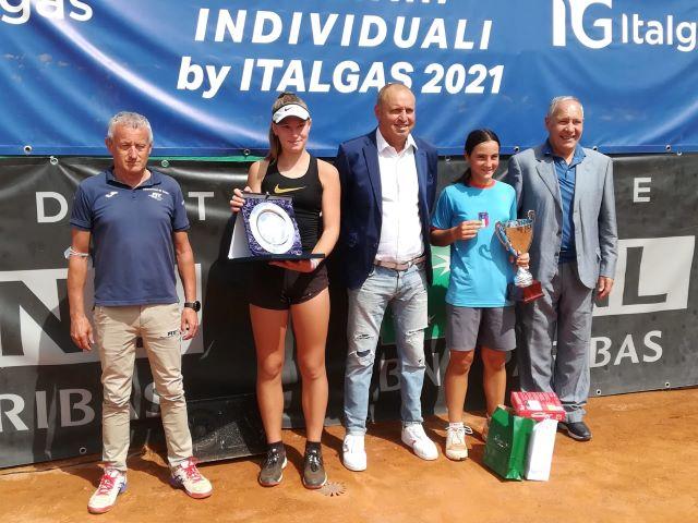 A Chieti trionfo della romana Fabiola Marino nella finale del campionato nazionale under 13 di Tennis