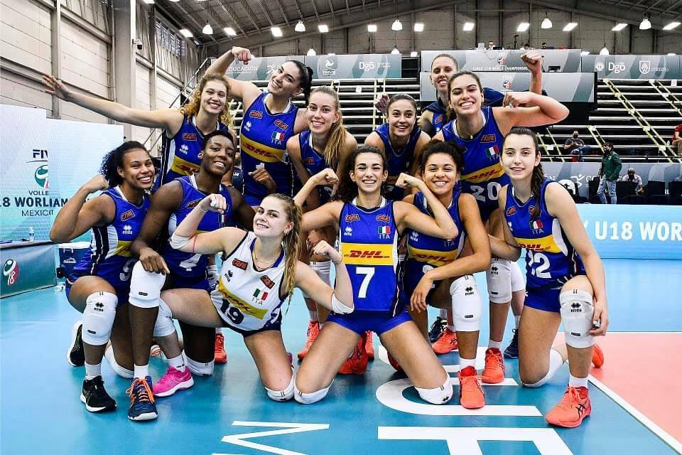 Pallavolo, Giulia Viscioni protagonista nell'Italia Under 18 argento ai Mondiali FOTO