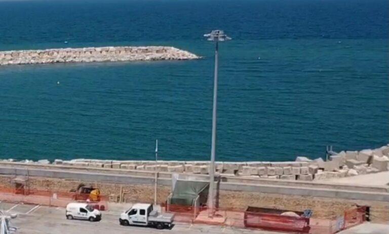 Giulianova, sostituzione torrifaro: partono i lavori al porto