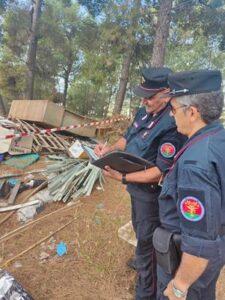 Pescara, abbandonavano e poi bruciavano rifiuti: terreno sotto sequestro