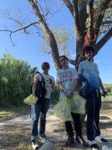 Martinsicuro, Questione Natura ripulisce la sponda abruzzese del fiume Tronto