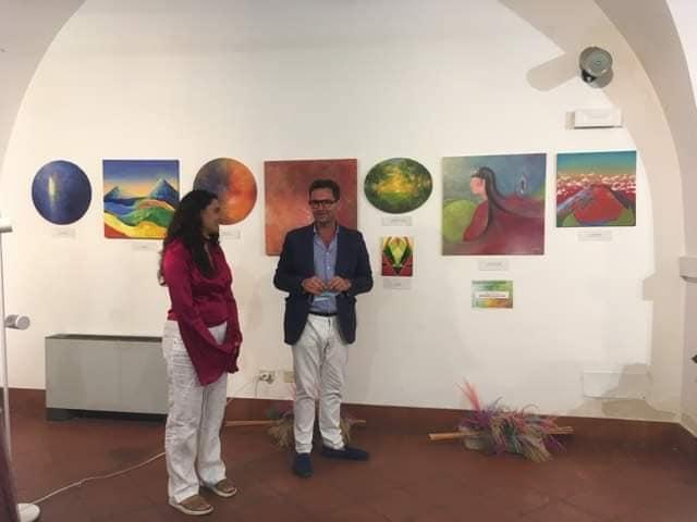 Inaugurata a Lanciano 'Stratosfere' la mostra personale di pittura di Benedetta Luciani