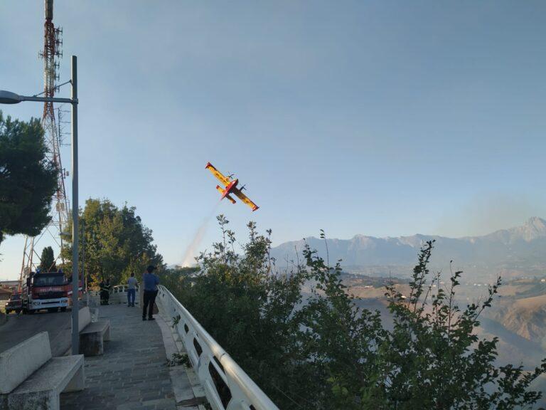 Incendio a Castellalto: intervento ormai concluso. La situazione