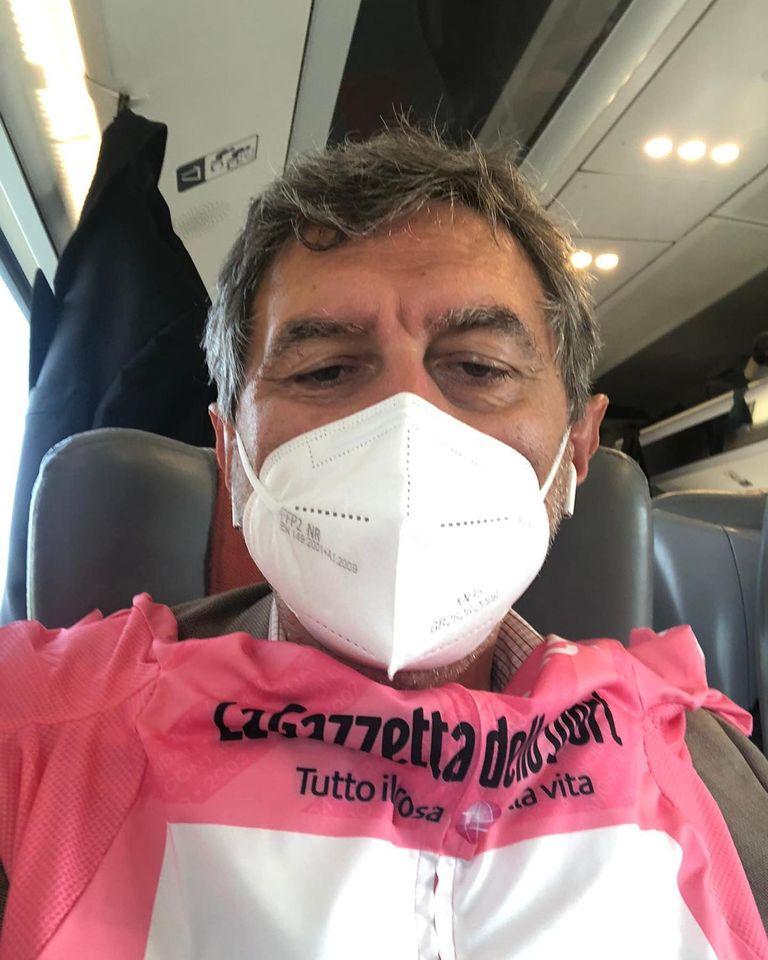 """Giro d'Italia: Marsilio incontra il direttore Vegni: """"Voglia di fare grandi cose"""""""