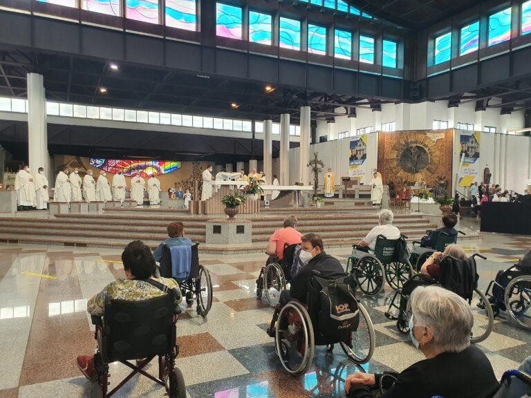 Santuario di San Gabriele, il concetto di prossimità al centro del Giubileo degli ammalati