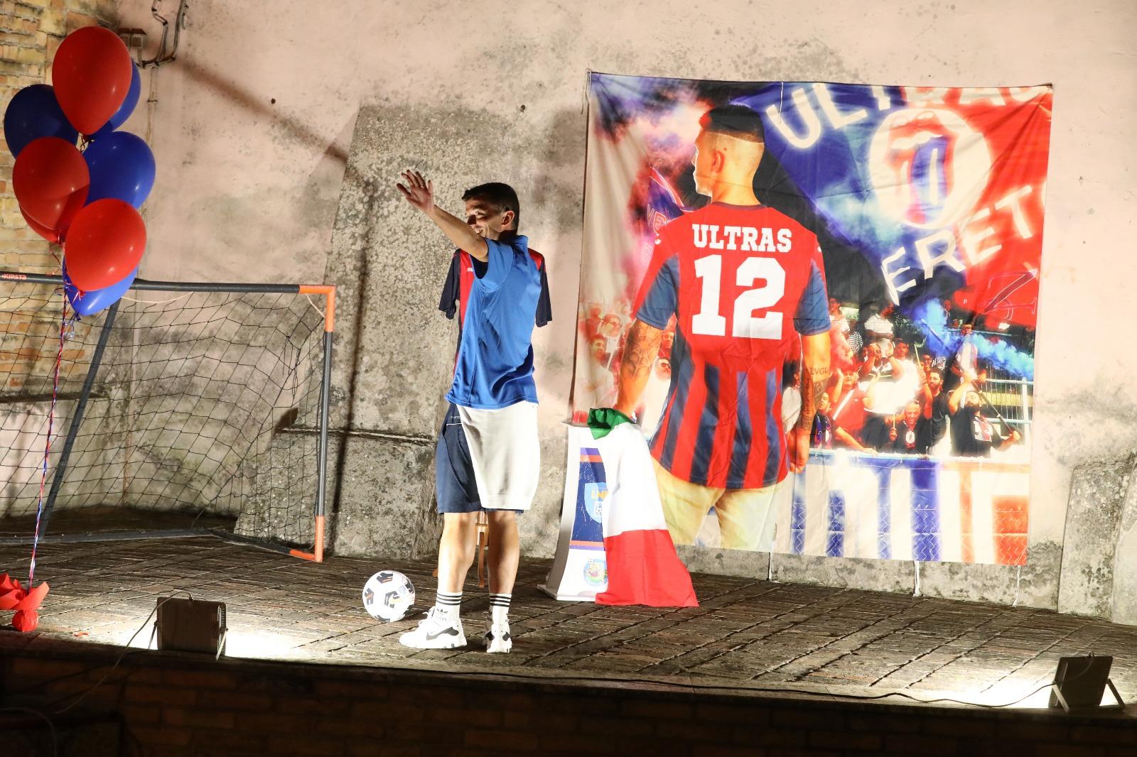 """Serie D, presentato il """"nuovo"""" Nereto FOTO VIDEO"""