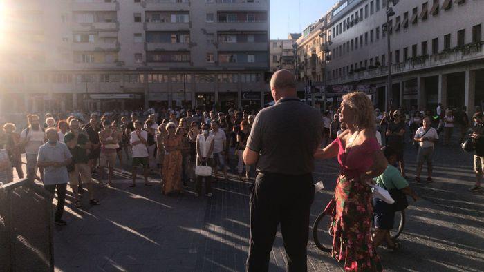 Pescara, ancora proteste contro il Green Pass