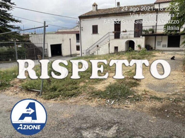 """Atri in Azione: """"Amministrazione in silenzio sui problemi di San Giacomo"""""""