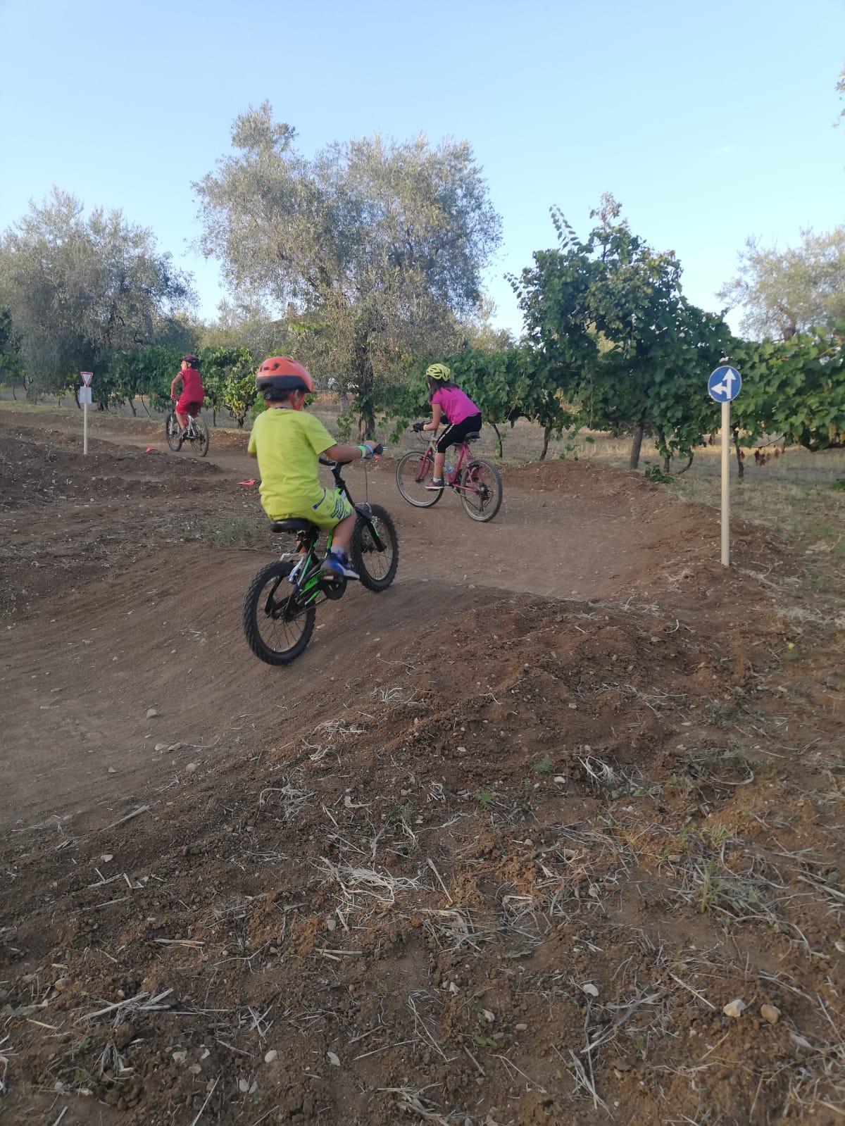 Cross bike park: grande partecipazione all'iniziativa a Torano Nuovo FOTO