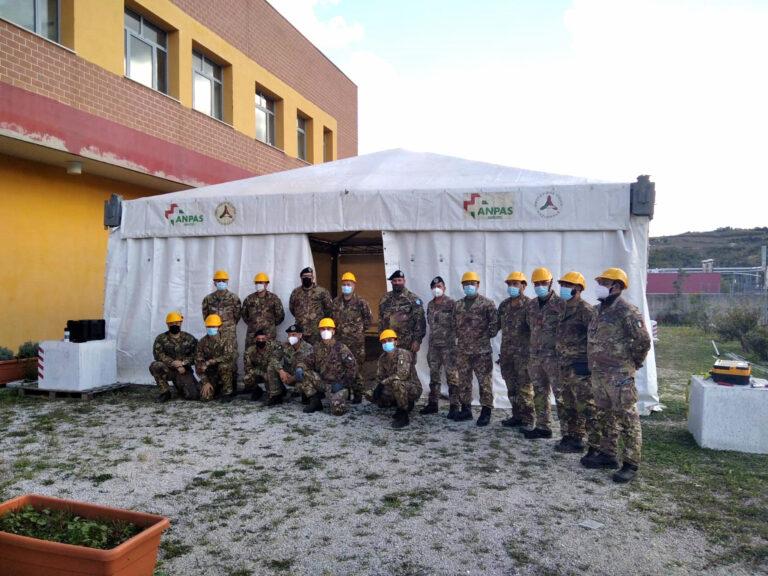 Università di Teramo, allestita una tensostruttura per la mensa di veterinaria