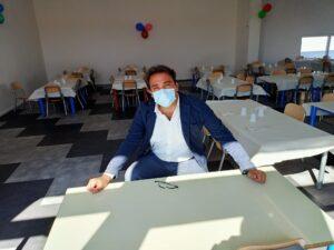 Teramo, primo giorno di scuola (con mensa) all'asilo di Colleatterrato