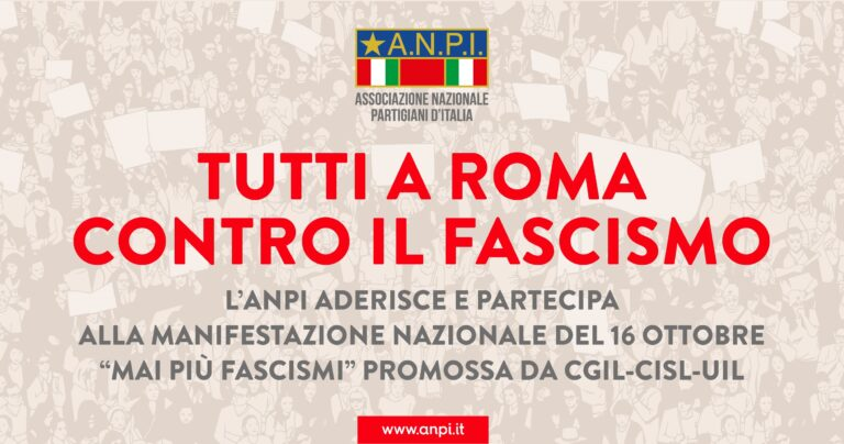 Teramo, l'Anpi fa appello a partecipare alla manifestazione antifascista