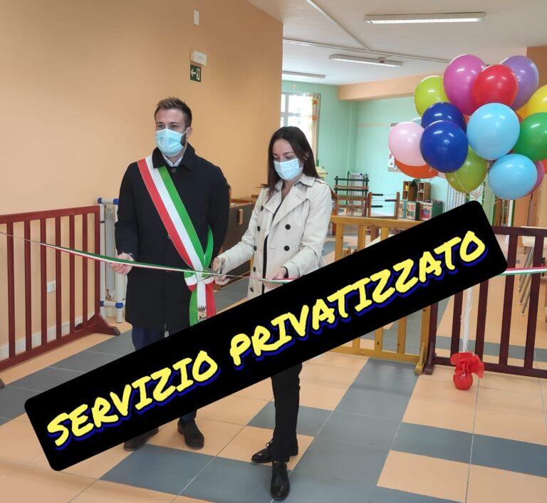 Giulianova, 'la Giunta si libera di un altro servizio: privatizzati gli asili nido'