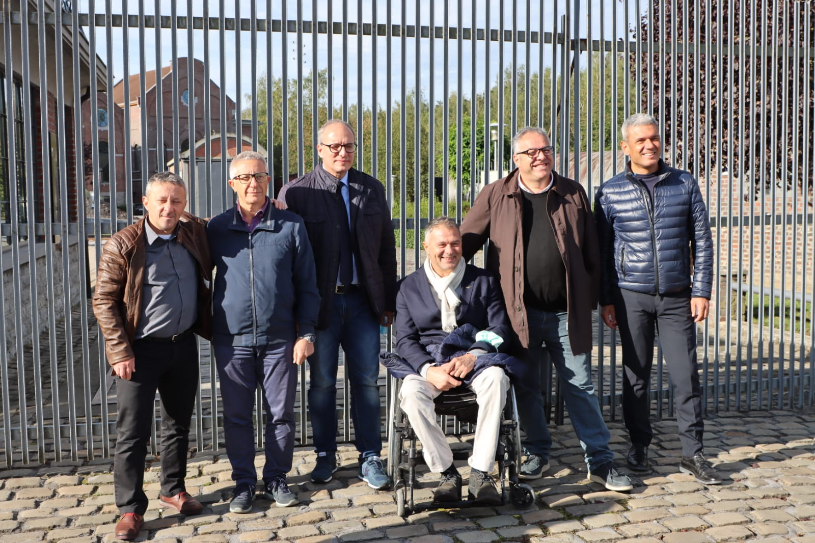 Pineto, Verrocchio in visita a La Louvière per ricordare l'emigrazione italiana FOTO