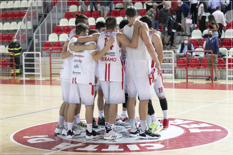 Basket Serie B, per la Rennova Teramo un test da grande contro Ancona