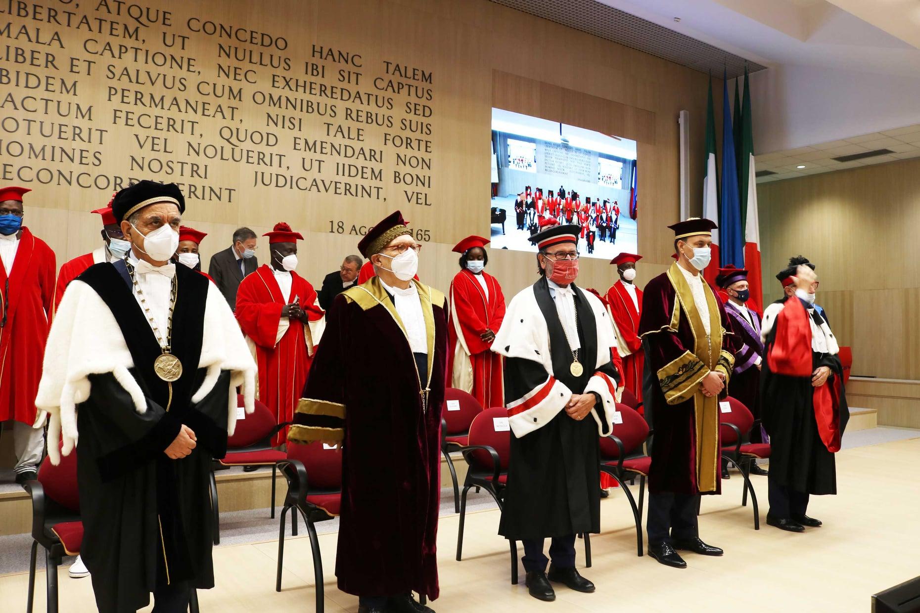 Teramo, il ministro dell'Istruzione Bianchi chiude il IV Forum Gran Sasso FOTO