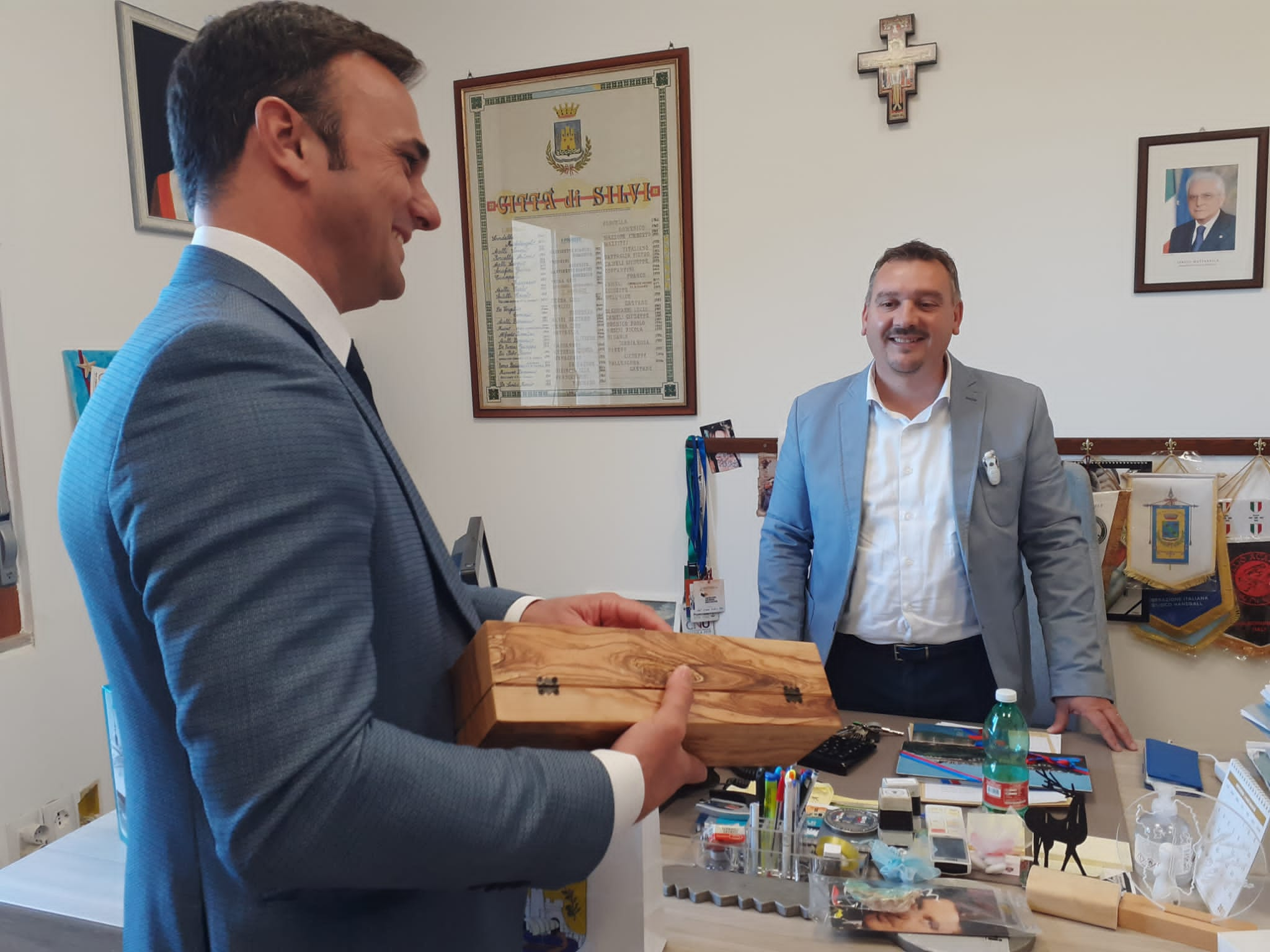 Silvi, il sindaco di Ulcinj in città per il gemellaggio culturale FOTO