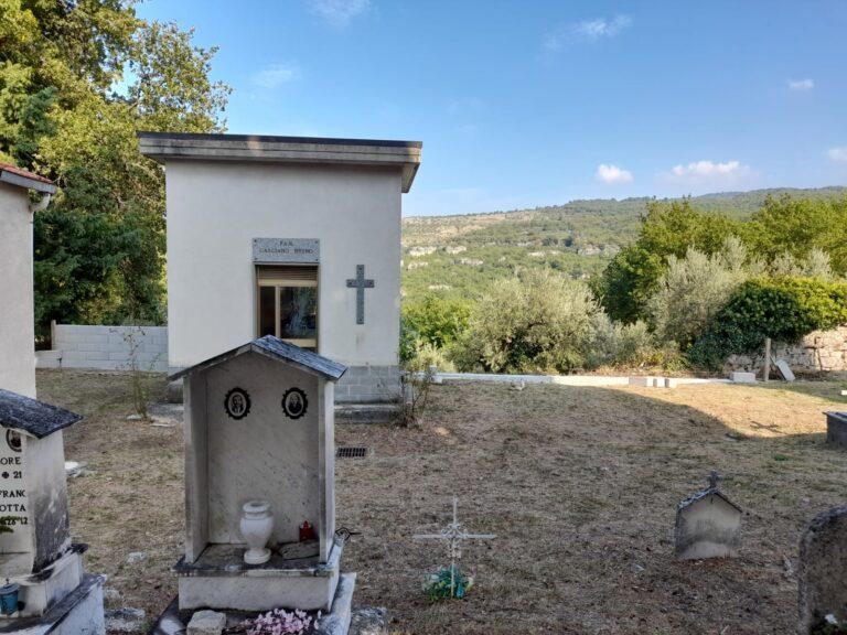 Bolognano, lavori nel cimitero di Musellaro e a Piano d'Orta