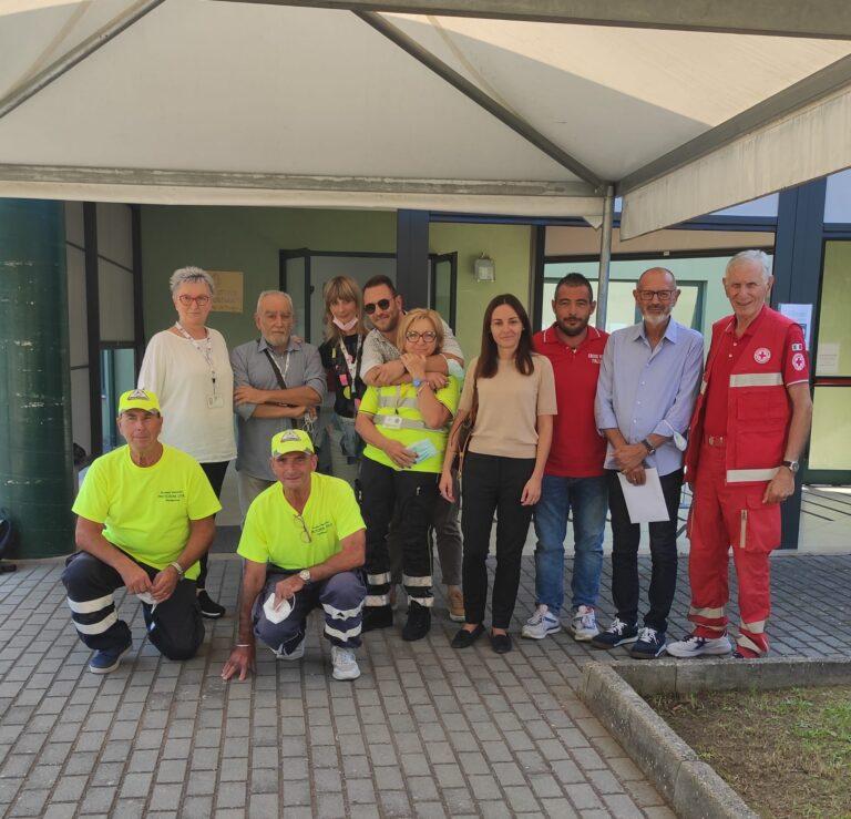 Giulianova, chiude l'hub vaccinale 'I Pioppi': somministrate quasi 55mila dosi
