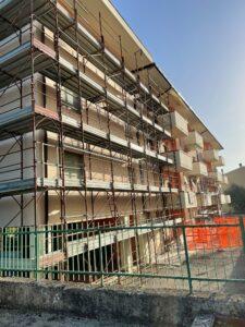 Montorio, l'Ater avvia il cantiere per la riqualificazione di 14 appartamenti