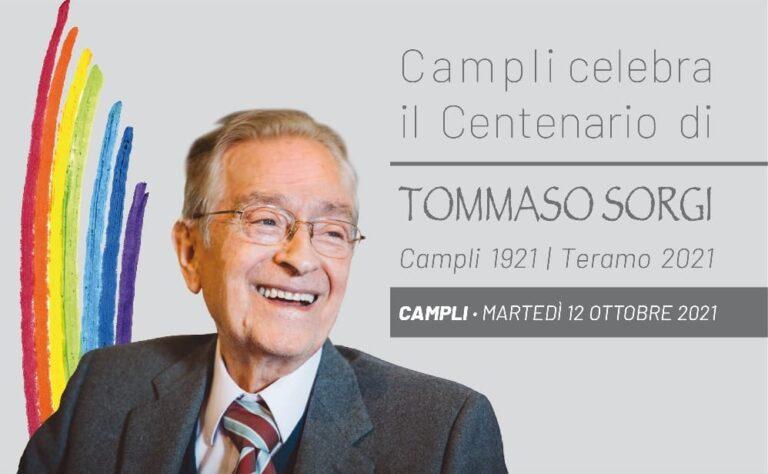 Campli celebra il centenario della nascita di Tommaso Sorgi
