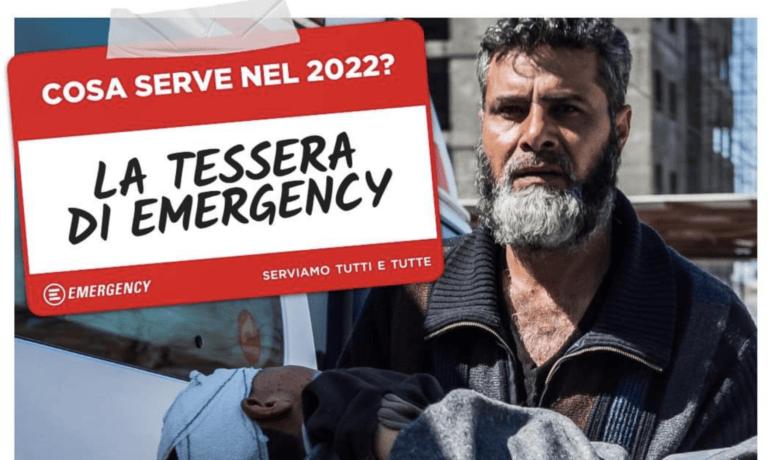 Anche a Teramo è possibile sottoscrivere la tessera di Emergency